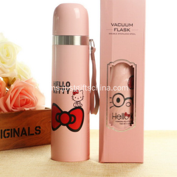 Promosi 500ml Hello Kitty sukan tahan karat botol