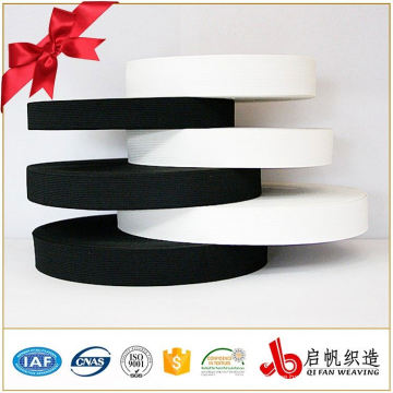 Okeo-Tex Factory knitted elastic band for garment / elastic webbing for clothes