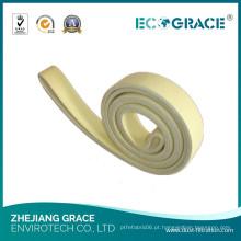 Industrial de alta eficiência 480 graus Celsius Resistente Kevlar Felt Belt