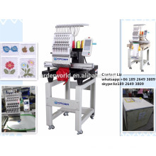 Single head cap and t-shirt embroidery machine price, embroidery machine
