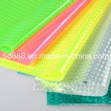 Sparkle PVC Sheet PVC Glitter Sheet Silver Reflective Sheet