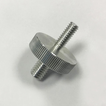 Serviços de usinagem CNC Double Head Threaded Screw Services