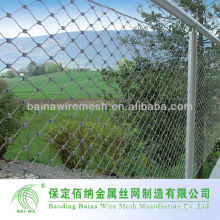 Flexible High Tensile Stainless Steel Rope Wire Mesh Net