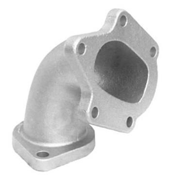 Coulée de précision de tuyau de décharge d'acier inoxydable