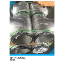 Butt Weld Seamless Stainless Steel Pipe Tee
