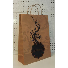 Brown torcer o punho Art Paper Bags