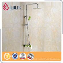 Conjunto de chuveiro com chuveiro de banho com controle de qualidade garantido, torneira de chuveiro longa, conjunto de chuveiro de banho deslizante