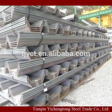 U Type steel sheet pile 400*170*15.5mm
