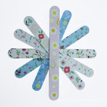 Wholesale cheap personalized disposable custom printed nail file colorful file