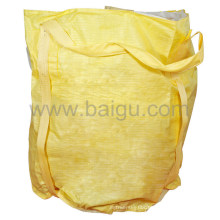 Yellow Fabric PP Plastic Bulk Bag