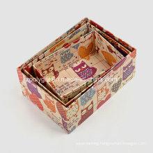 Printing Kraft Paper Storage Packing Gift Boxes