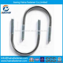 Hecho en China alta calidad 4.8grade 8.8Gr galvanizado U-bolt