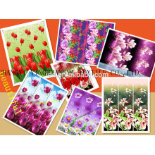 Fabric,Polyester Material and Fashion Type Printed