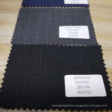 wholesales stock wool polyester fabric suit fabric