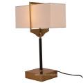 2021 Restaurant Decorative Table Lights Fabric lampshade LED Reading Lamp