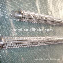 DEMALONG Kundenspezifisches SS-Material 220 Schmelzfilterelement für Standardstecker