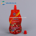 Ketchup Saucen Stand Up Shaped Pouch mit Ausguss