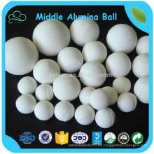 Bolas de cerámica del alúmina medio del 68% para el molino de la hierba