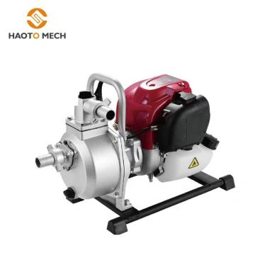 Сельскохозяйственный бензиновый двигатель водяного насоса 1 дюйм
