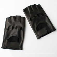 2016 hot sale short finger cycling leather gloves
