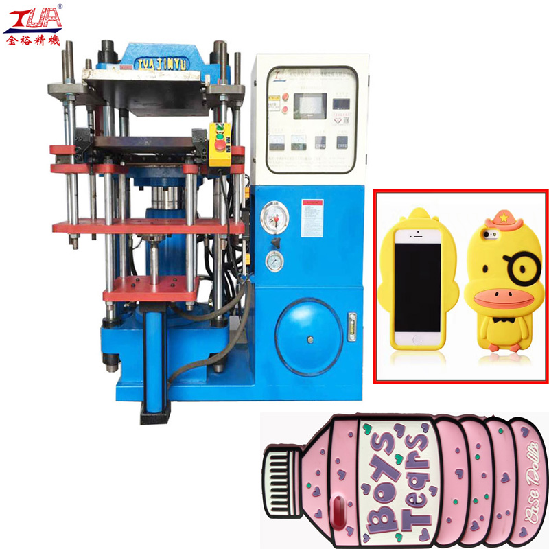White Silicone Cell Phone Case Making Machine