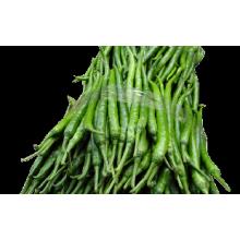 Piment vert congelé IQF