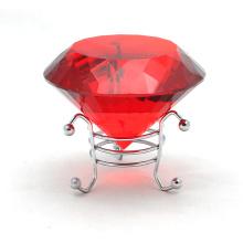 Favores do casamento ou presentes do retorno Diamante de cristal feito a mão