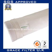 Hochtemperaturbeständige Nonwoven Filz Nomex Filtertasche