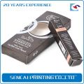 Muestra gratis Custom Chipboard Lip gloss / lip linercosmetic caja de papel plegable