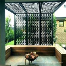 Wall Decoration Rustproof Laser Cut Metal Outdoor Privacy Screens Decorative Metal Outdoor Screen Panels