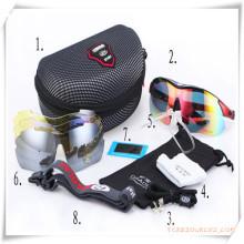 Подарок промотирования для профессиональных велосипедов очки установлен в защите