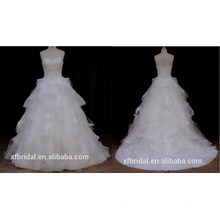 Wonmen Без Бретелек Органзы Свадебное Платье 2016 Новый Стиль