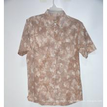 Camisas casuales de último diseño de marca de fábrica