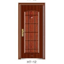 Steel Security Door In Classical Design