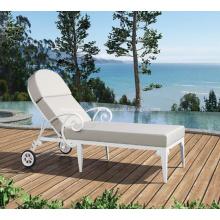 Silla de playa de aluminio al aire libre