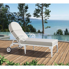Cadeira de praia em alumínio exterior