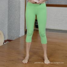 Dry Fit Womens Yoga Gym Wear, Desgaste del deporte, Pantalones de yoga