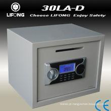 LCD visor moeda slot cofre de depósito dinheiro seguro
