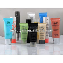 Matte Finishing Cosmetic BB Cream Tubes With Plasted Cap