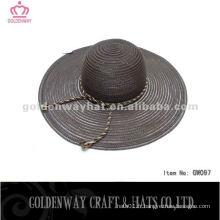 Floppy Blue summer fabric hats hats ladies