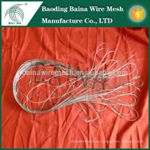 Anti-Diebstahl-Stahl Mesh Rucksack Schutz Metall Mesh-Tasche