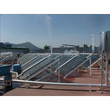non-pressurized solar collector for large scale application