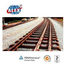 Treuils en acier en forme de rail en acier pour mine de charbon