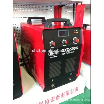 Popular e venda de fábrica diretamente ZX7-500IGBT máquina de solda manual de arco MMA