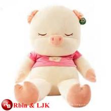ICTI Audited Factory gefüllte große Schwein Spielzeug