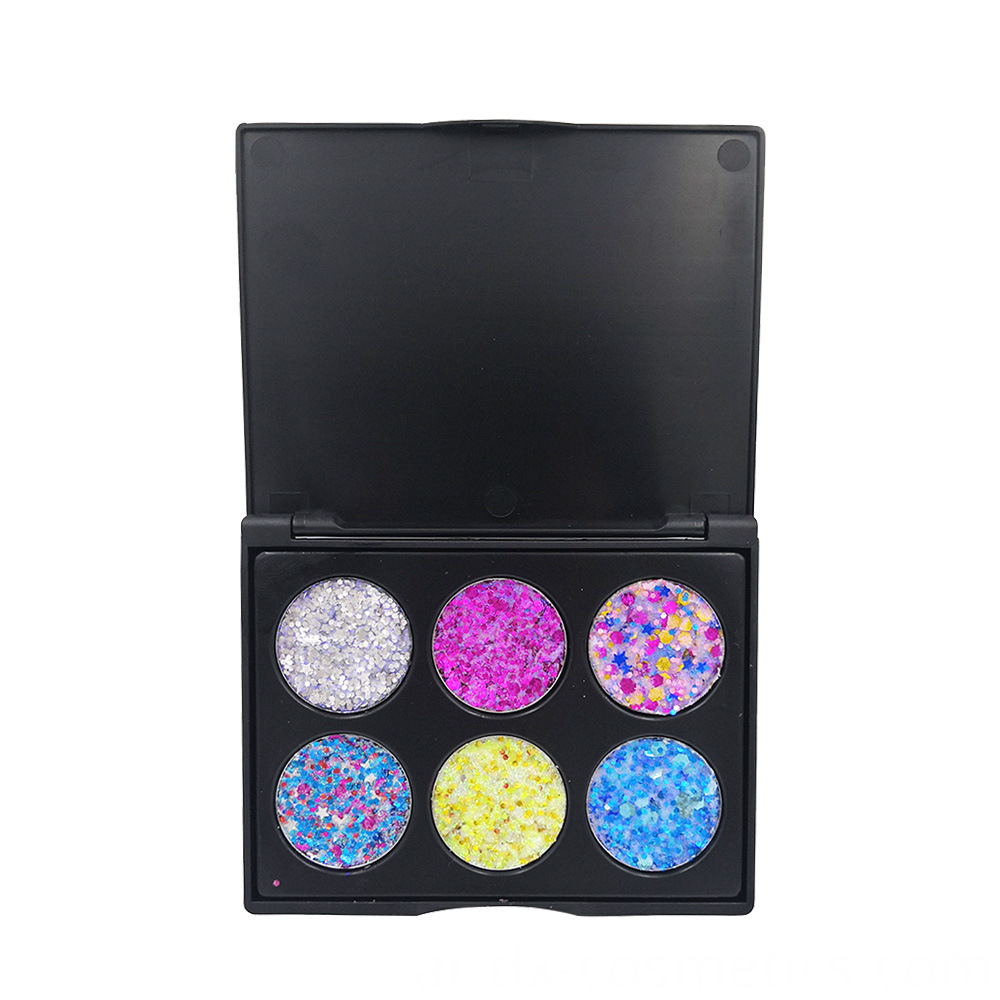 6 Colors Gligger Eye Shadow 12