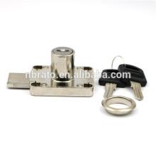 Finition nickel en alliage de zinc Verrouillage à tiroirs à sécurité longue