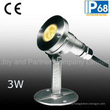 24VDC 3W LED Underwater Spot Light with Bracket (JP95312)
