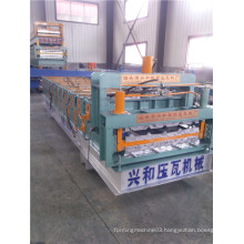 Colored Steel Tile Cold Bending Roll Forming Machine