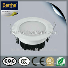 High performance 2.5W-15W power optional led embedded ceiling downlight